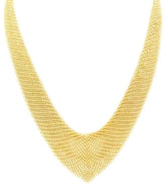 Tiffany & Co. Elsa Peretti Mesh 18K Yellow Gold Necklace