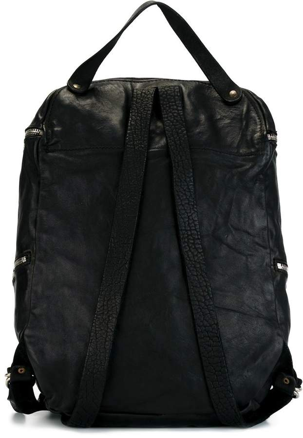 Guidi zip up backpack