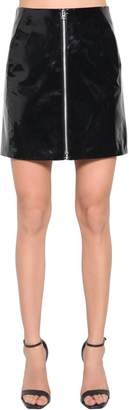 Rag & Bone Rag&bone High Waist Patent Leather Mini Skirt