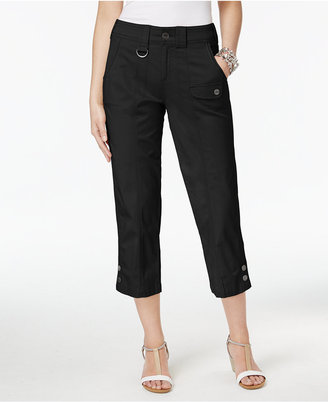 Style & Co Cargo Capri Pants, Created for Macy's $49.50 thestylecure.com