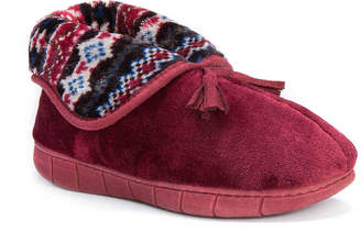 Muk Luks Fleece Bootie Slipper - Women's