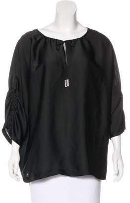 MICHAEL Michael Kors Tassel-Embellished Blouse