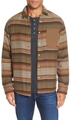 Jeremiah Lansing Reversible Twill Flannel Regular Fit Shirt