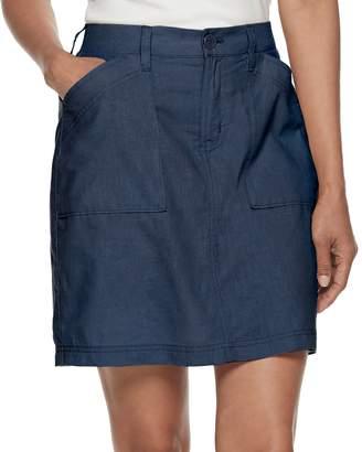 Croft & Barrow Women's Linen Comfort Skort