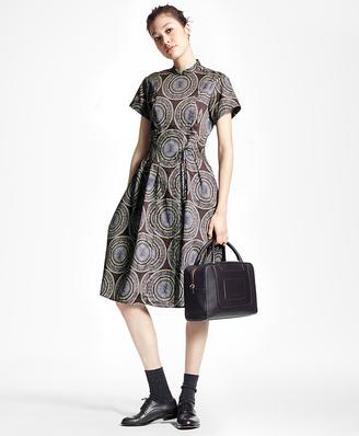 Medallion Shirt Dress $228 thestylecure.com