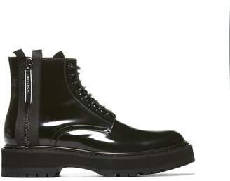 Givenchy Zipped Lace-up Boots
