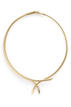 Sterling Forever Adjustable Collar Necklace