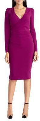 Rachel Roy Romy Surplice Bodycon Dress
