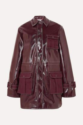 dfccef620 Burgundy Leather Jacket Women - ShopStyle UK