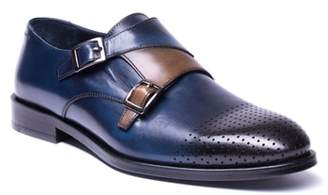 Jared Lang Double Buckle Monk Shoe