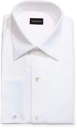 Ermenegildo Zegna Woven & Pique Tuxedo Shirt