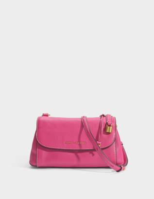 Marc Jacobs Boho Grind Crossbody Bag in Hydrangea Cow Leather