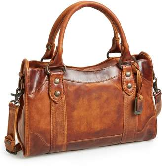 Frye 'Melissa' Washed Leather Satchel
