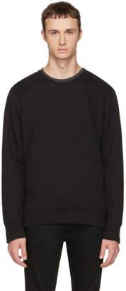 Nudie Jeans Black Evert Light Sweatshirt