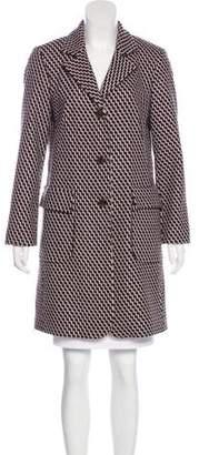 Wes Gordon Virgin Wool Knee-Length Coat