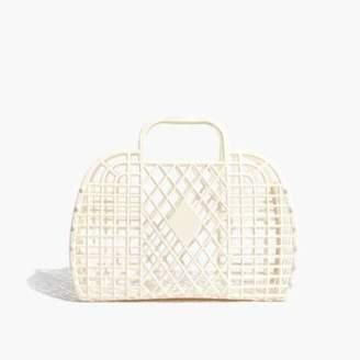 Madewell Sun Jellies Retro Basket Tote