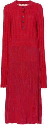 Marni Woven Virgin Wool Dress