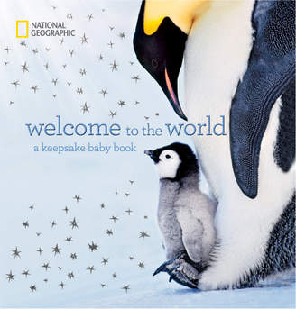 Penguin Random House National Geographic Welcome To The World Keepsake Book