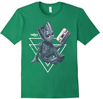 Marvel Groot Guardians of Galaxy 2 Tape Shape Graphic Shirt