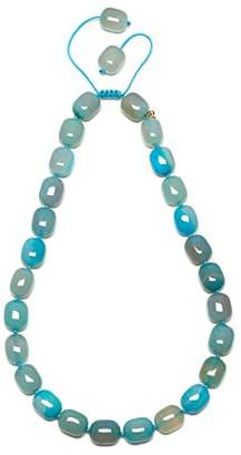Lola Rose Women Blue Coral Agate Strand Necklace of Length 25cm 692090