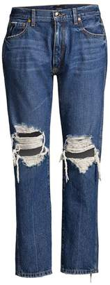 KHAITE Kyle Relaxed Low-Rise Jeans