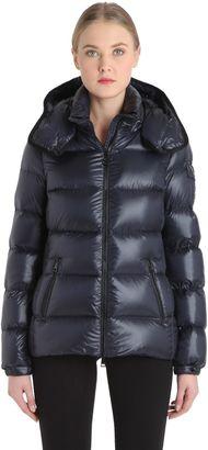 Berre Nylon Leger Brillant Down Jacket $1,090 thestylecure.com