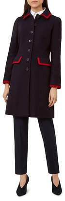 Hobbs London Elle Tipped Coat