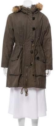 Tory Burch Dylen Parka Coat