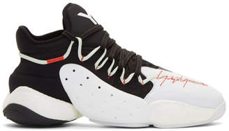 Y-3 Y 3 Black and White BYW B-Ball Sneakers