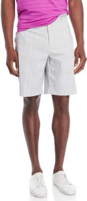 Callaway Pearl Blue Glen Plaid Shorts