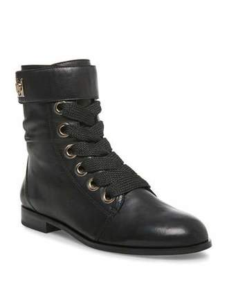 Kate Spade Ruby Napa Lace-Up Boots