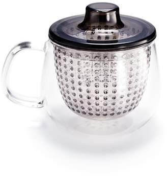 ABC Home Unimug Teapot with Lid Strainer Gray