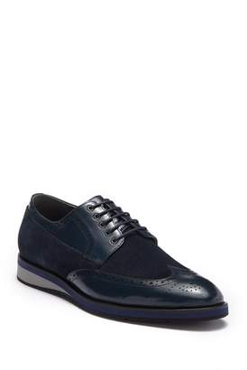 Zanzara Saville Leather Wingtip Oxford