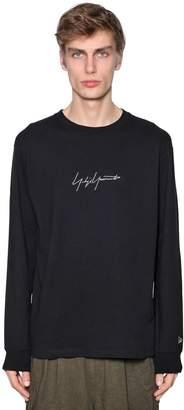 Yohji Yamamoto New Era Embroidery Jersey T-Shirt