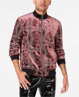 INC International Concepts I.n.c. Men Glitter Zolar Novelty Jacket