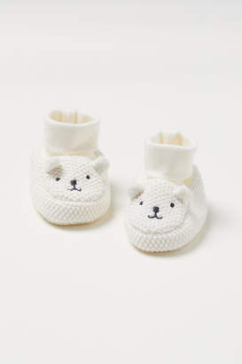 H&M Knit Slipper Socks - White