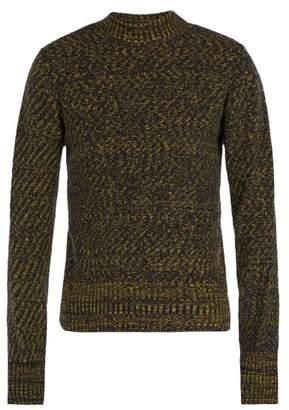 Oliver Spencer Westland Crew Neck Wool Sweater - Mens - Navy Multi