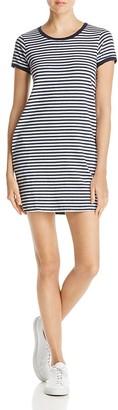 Nation LTD Olivia Striped Tee Dress $115 thestylecure.com