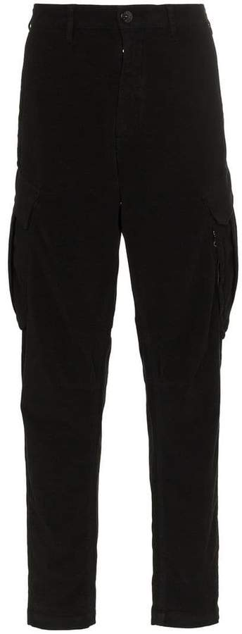 Stone Island Shadow Project cotton blend cargo trousers