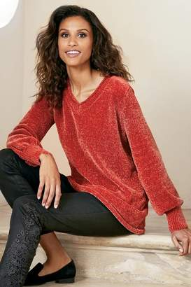 Soft Surroundings Arandale Chenille Sweater