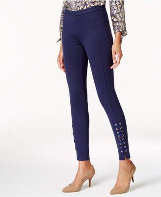 Michael Kors Lace-Up Skinny Pants