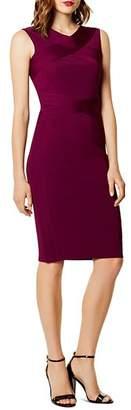 Karen Millen Crisscross Body-Con Dress