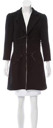 Chanel Structured Wool Coat