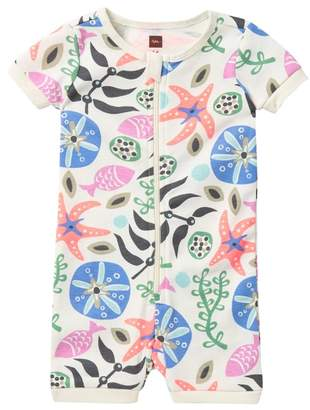 Tea Collection Short Sleeve Pajamas (Baby Girls)