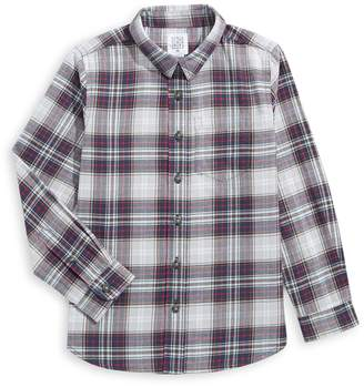 Core Life Little Boy's Plaid Cotton Sport Shirt