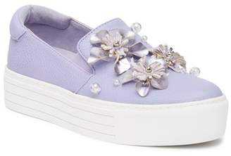 Kenneth Cole Reaction Cheer Floral Slip-On Platform Sneaker