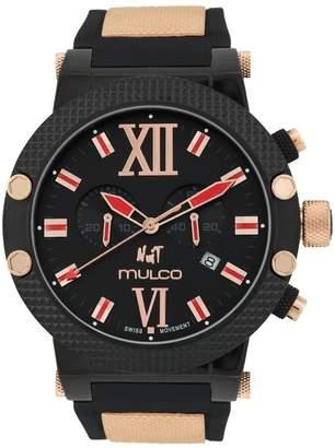 Mulco Men's Nuit MW3-11010-026 Silicone Swiss Quartz Watch
