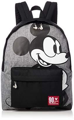 Disney (ディズニー) - [ディズニー] ミッキー90周年(初代ミッキー)デイパック D4363 D4363 グレー