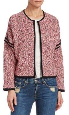 Rag & Bone Halstead Marled Cotton Jacket