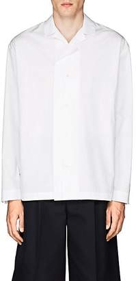 Jil Sander Men's Bowling Shirt - White